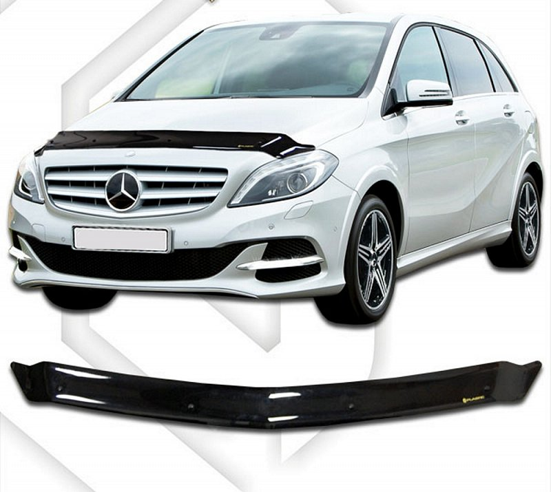 MERCEDES B-CLASS W246 2011-UP HOOD DEFLECTOR