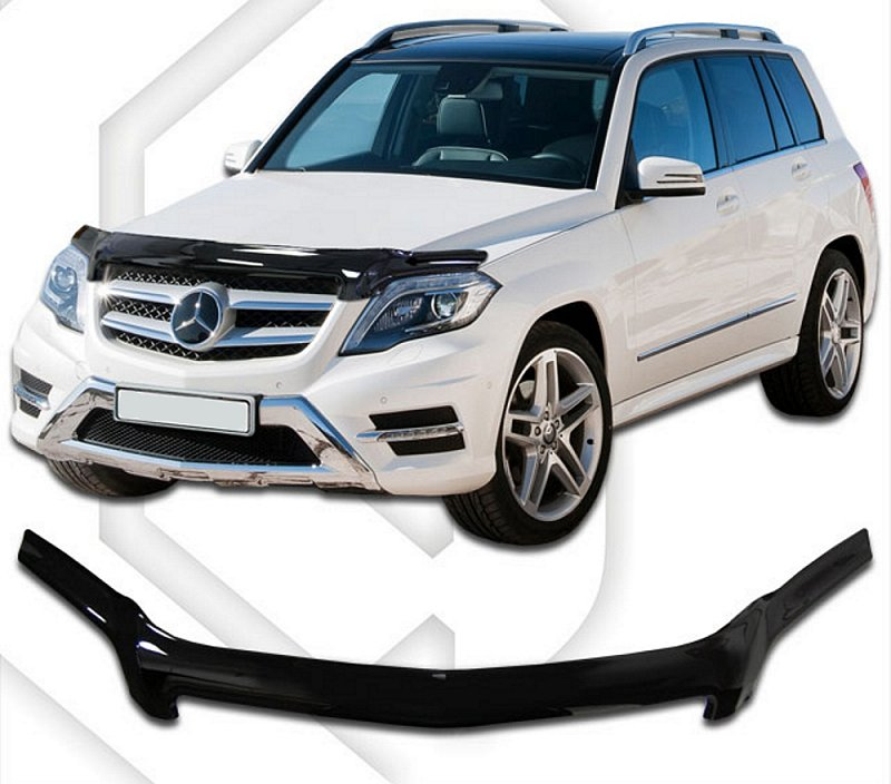 MERCEDES GLK 2012-UP HOOD DEFLECTOR
