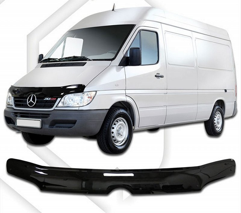 MERCEDES SPRINTER 2000-2006 HOOD DEFLECTOR