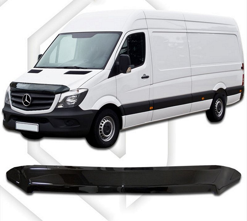 MERCEDES SPRINTER 2014-UP HOOD DEFLECTOR