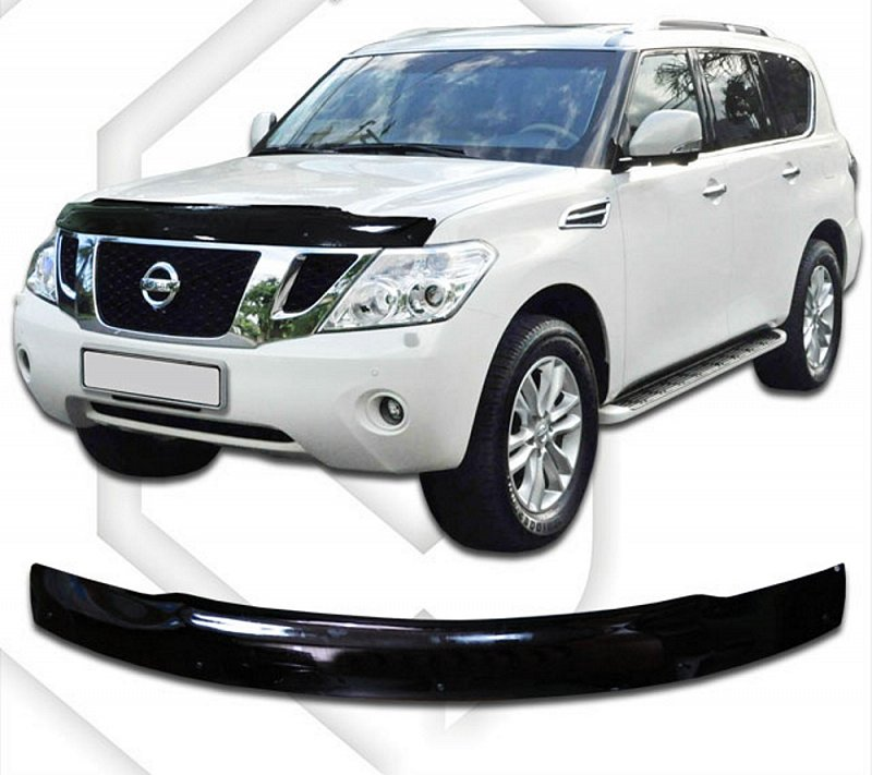 NISSAN PATROL 2011-UP HOOD DEFLECTOR