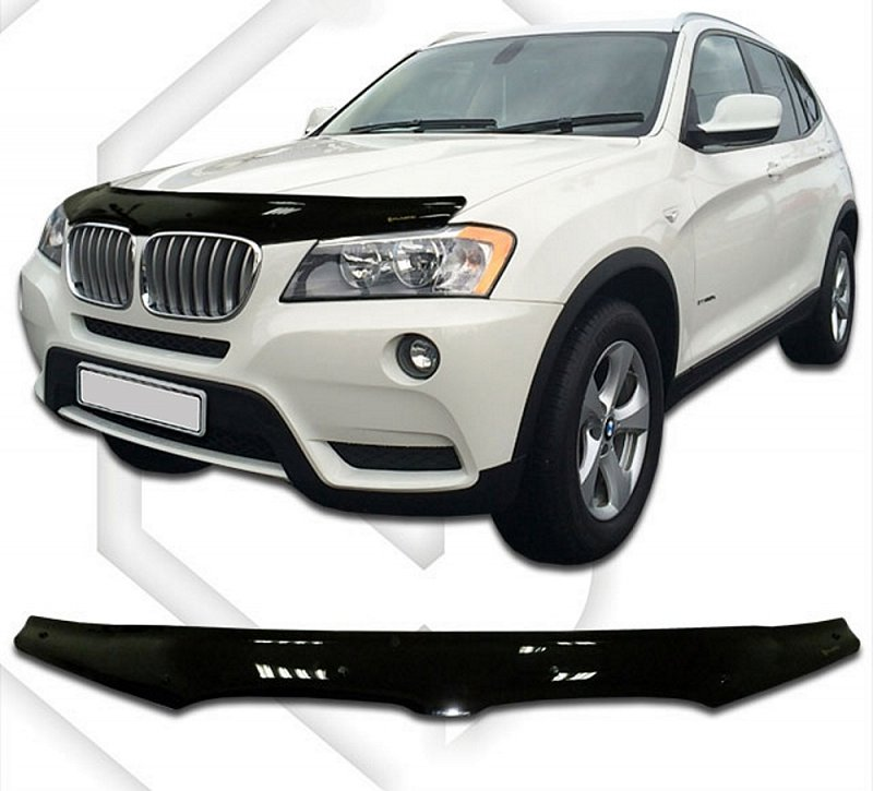 BMW X3 F25 2010-UP HOOD DEFLECTOR