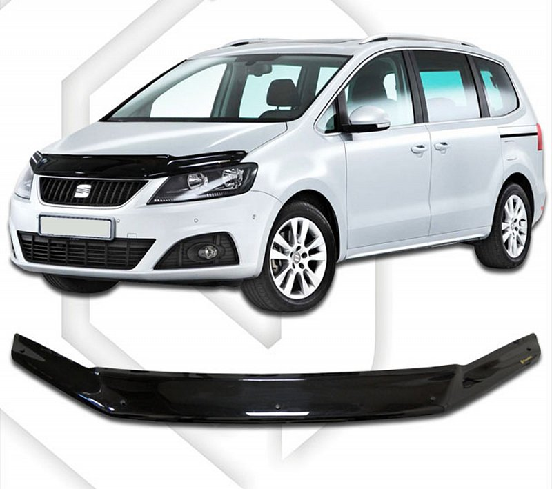 SEAT ALHAMBRA 2010-UP HOOD DEFLECTOR