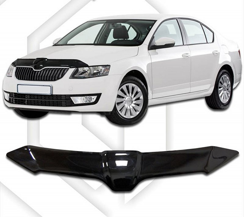 SKODA OCTAVIA III 2013-UP HOOD DEFLECTOR