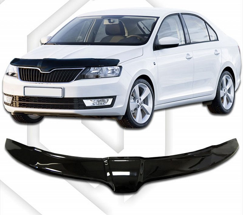 SKODA RAPID 2013-UP HOOD DEFLECTOR