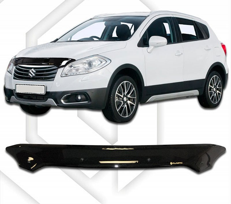SUZUKI SX4 2013-UP HOOD DEFLECTOR