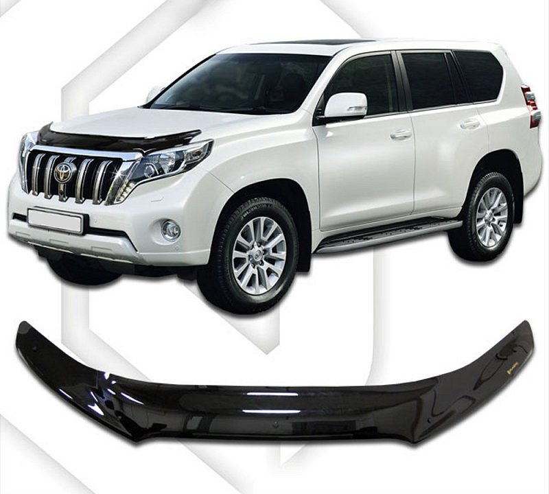 TOYOTA LAND CRUISER J150 FACELIFT 2014-UP HOOD DEFLECTOR