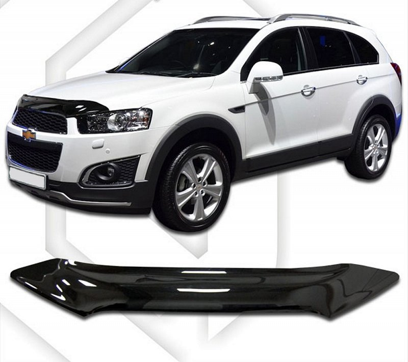 CHEVROLET CAPTIVA 2012-UP HOOD DEFLECTOR