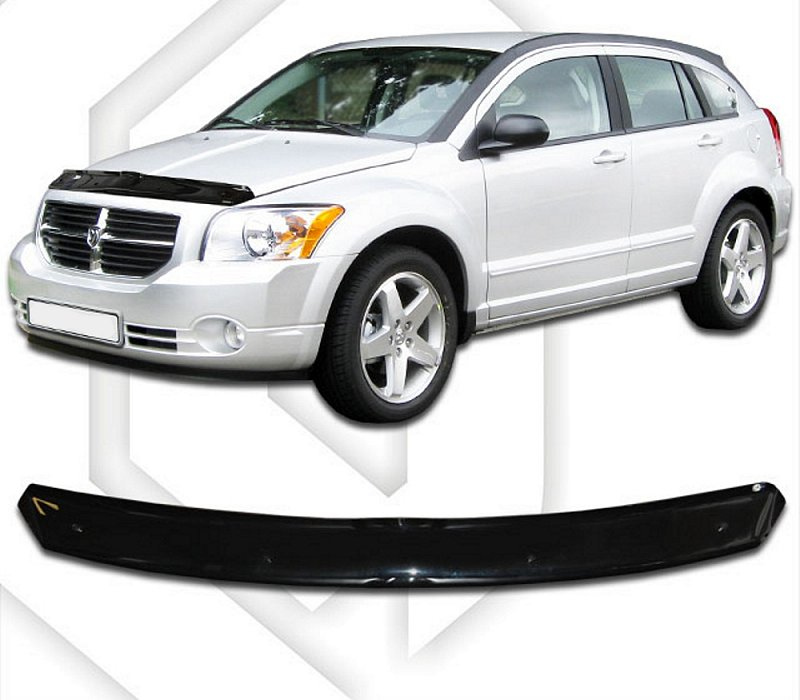 DODGE CALIBER 2006-2011 HOOD DEFLECTOR