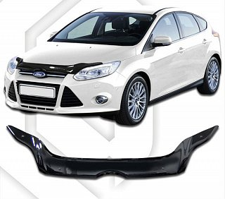 FORD FOCUS III 2011-2015 HOOD DEFLECTOR