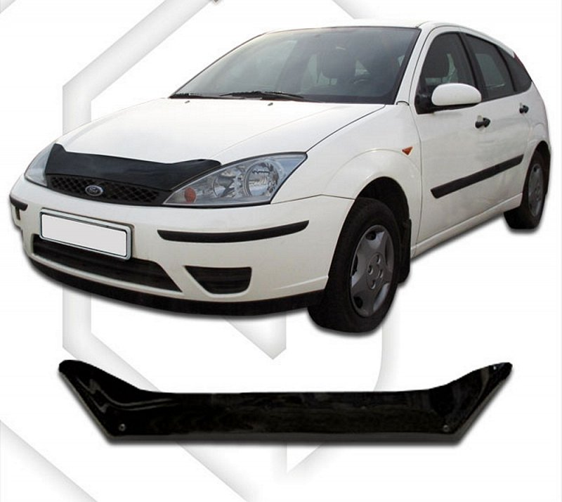 FORD FOCUS I 1998-2004 HOOD DEFLECTOR