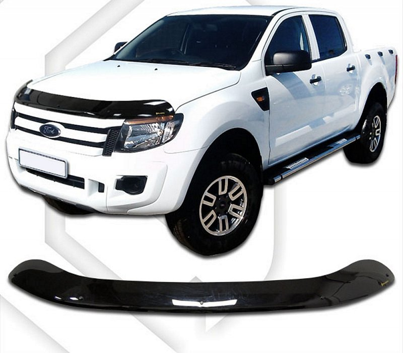 FORD RANGER DOUBLE CAB HOOD DEFLECTOR