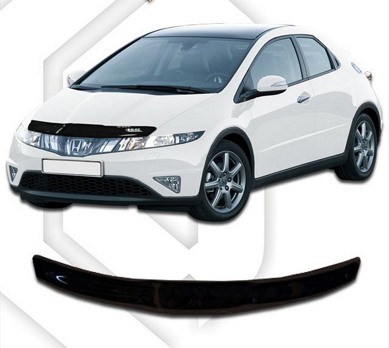 HONDA CIVIC 2007-2012 HOOD DEFLECTOR