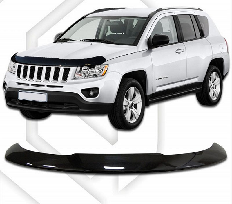 JEEP COMPASS 2013-UP HOOD DEFLECTOR